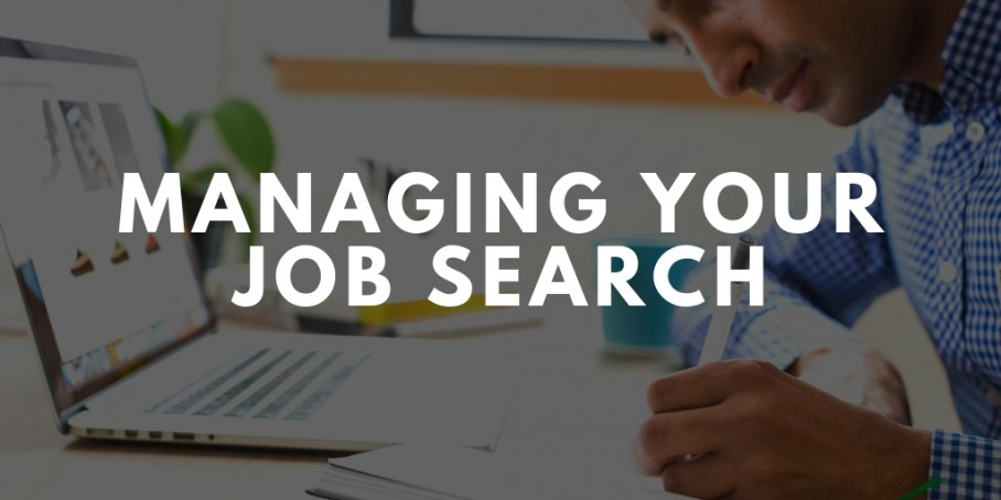 How To Manage Your Job Search
