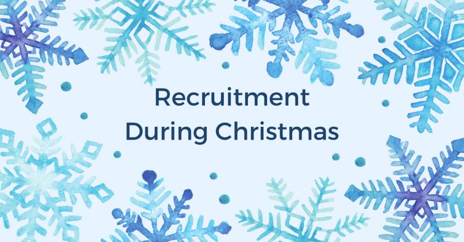 Recruitment During the Christmas Period