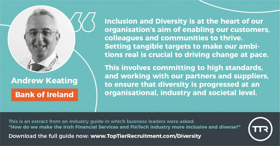 Andrew Keating on Diversity & Inclusion
