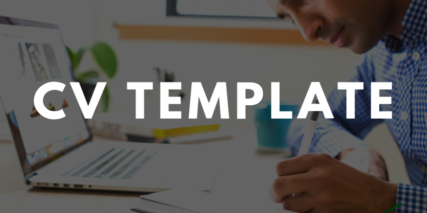 CV Template [Free Download]